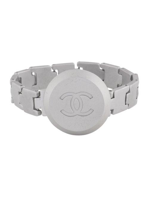 Chanel CC Link Bracelet Gold