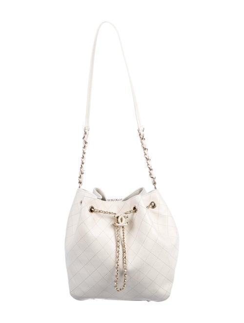 Chanel 2019 Drawstring Bucket Bag gold