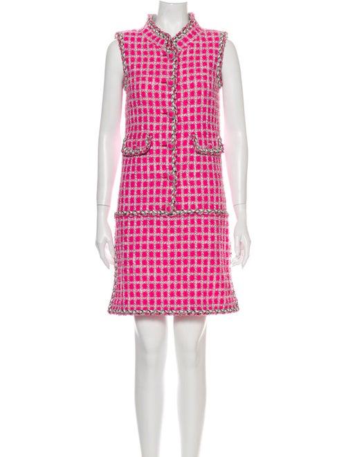 Chanel 2014 Mini Dress Pink