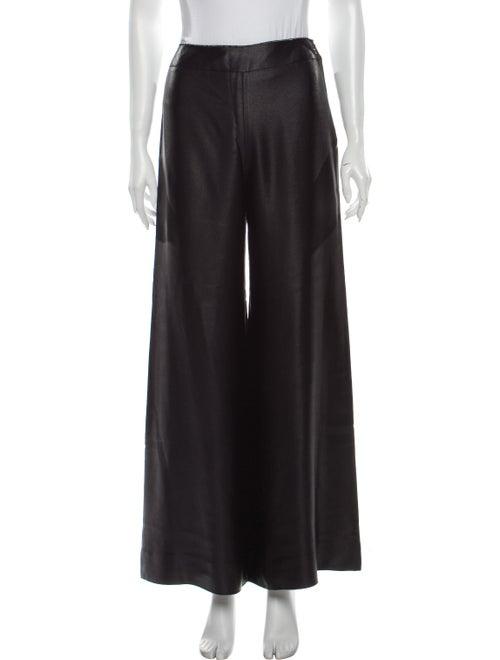 Chanel 2000 Wide Leg Pants Black