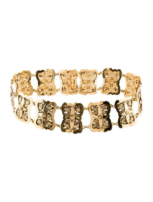 Chanel Vintage Embellished Belt Gold