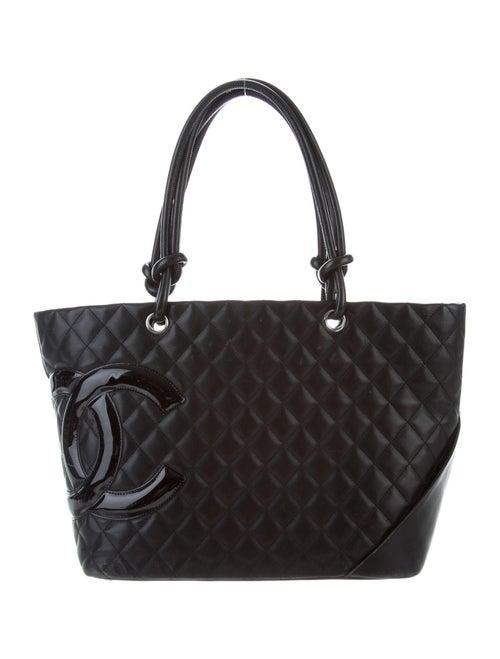 Chanel Ligne Cambon Large Bucket Bag Black
