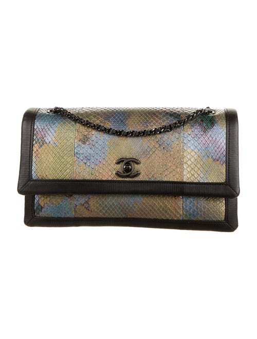 Chanel Python Flap Bag