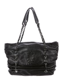 Chanel Sharpei Leather Tote