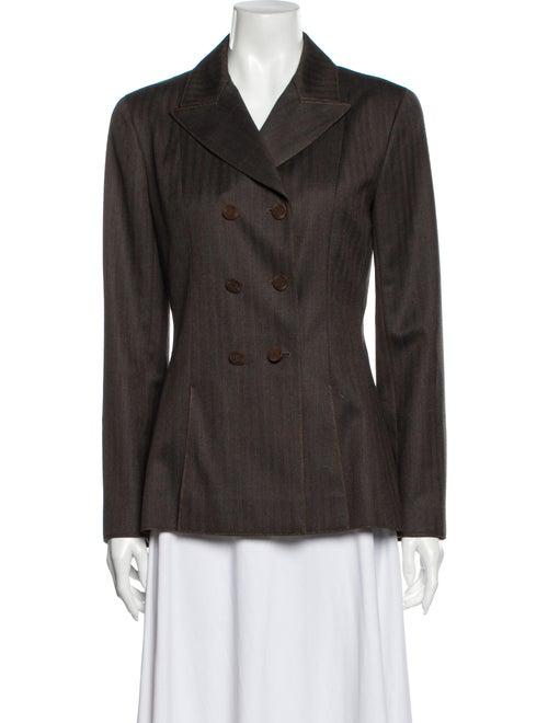 Chanel Wool Blazer Wool