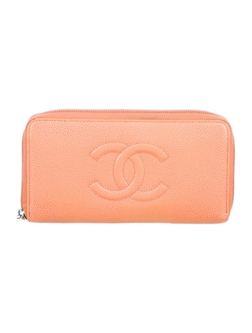 Chanel Timeless L-Gusset Wallet brown