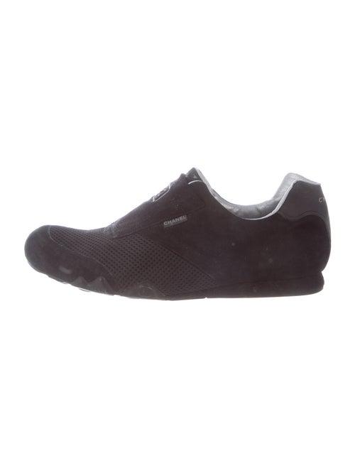 Chanel Suede Sneakers Black