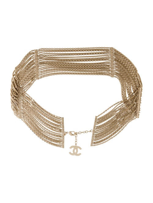 Chanel CC Chain-Link Belt Gold