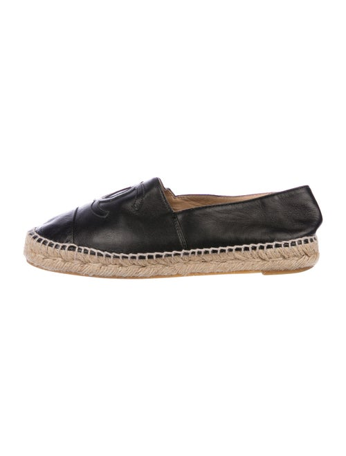 Chanel Espadrilles Interlocking CC Logo Espadrille