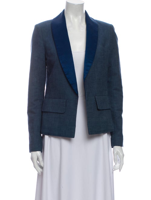 Chanel 2017 Blazer Blue