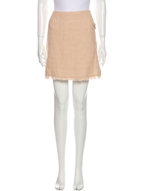 Chanel 2010 Mini Skirt Pink