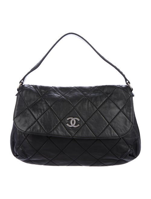 Chanel Quilted Flap Bag Black