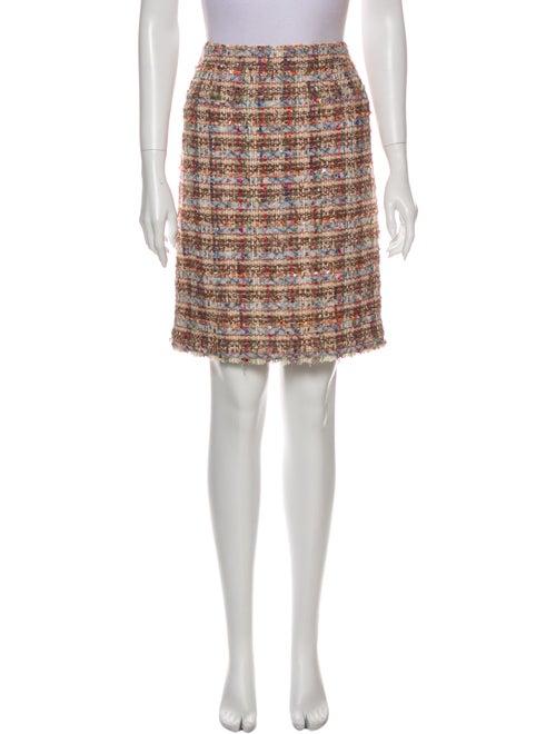 Chanel 2005 Knee-Length Skirt Metallic