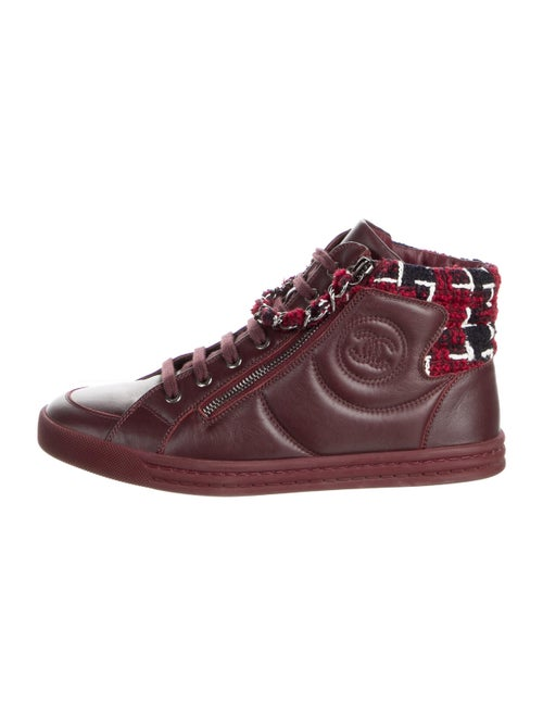 Chanel 2015 Leather Sneakers
