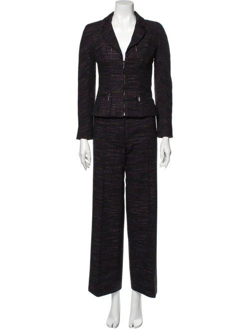 Chanel Vintage 2002 Pantsuit Black
