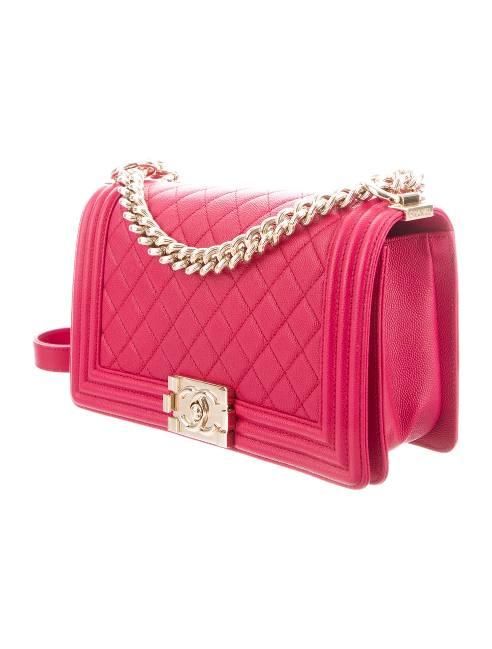 Chanel Quilted Medium Boy Bag Pink - image 3
