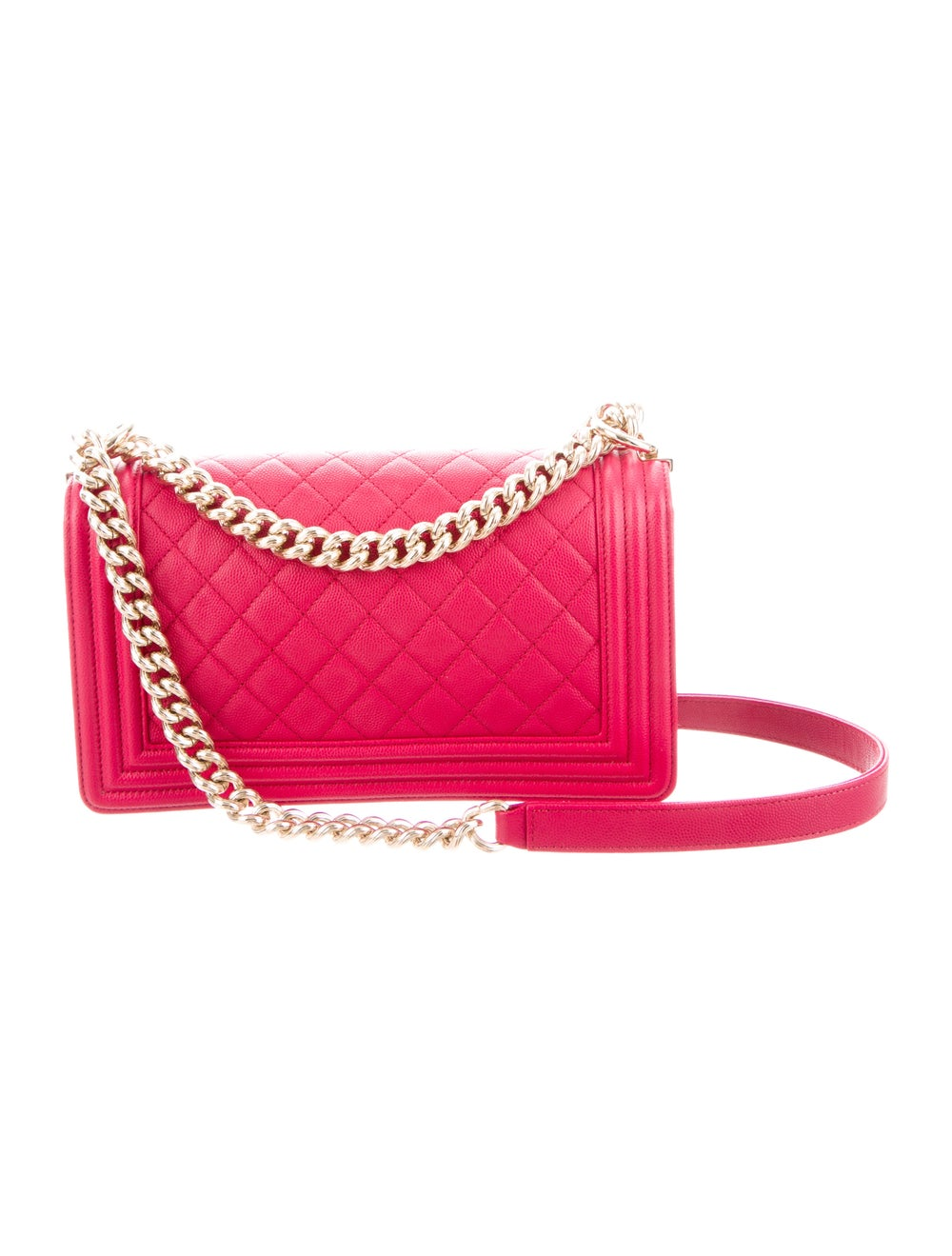 Chanel Quilted Medium Boy Bag Pink - image 4