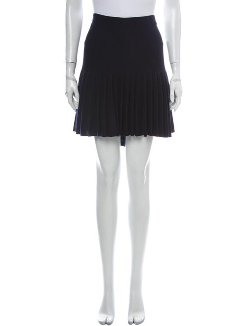 Chanel 2013 Mini Skirt Wool