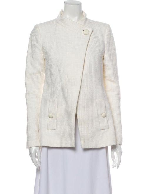 Chanel 2015 Blazer White