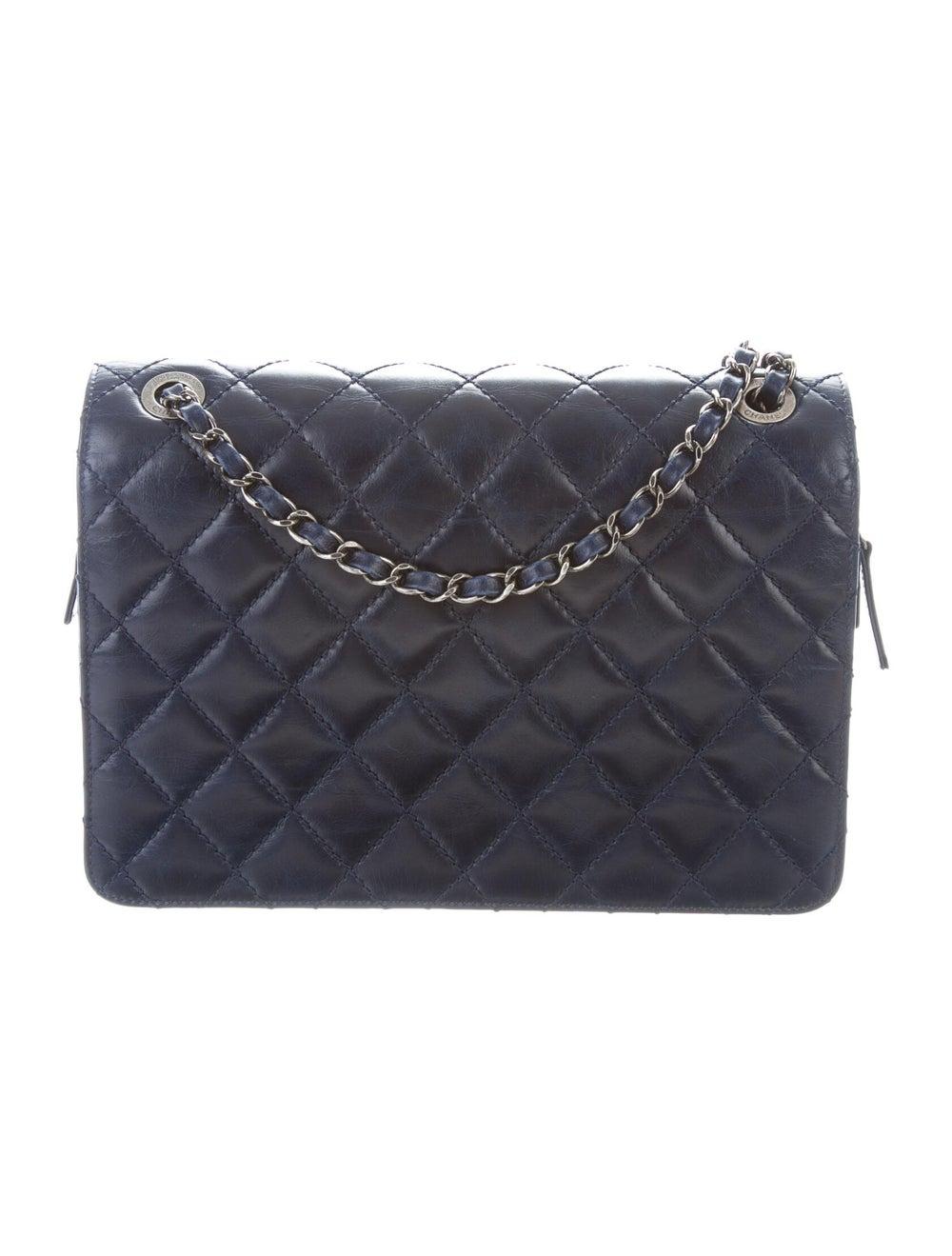 Chanel Day Trip Flap Bag Blue - image 4