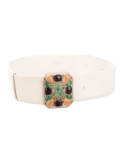 Chanel 2008 Gripoix Waist Belt Gold