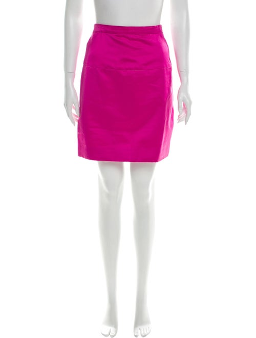 Chanel Vintage Mini Skirt Pink