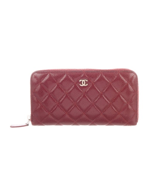 Chanel Quilted L-Gusset Wallet gold