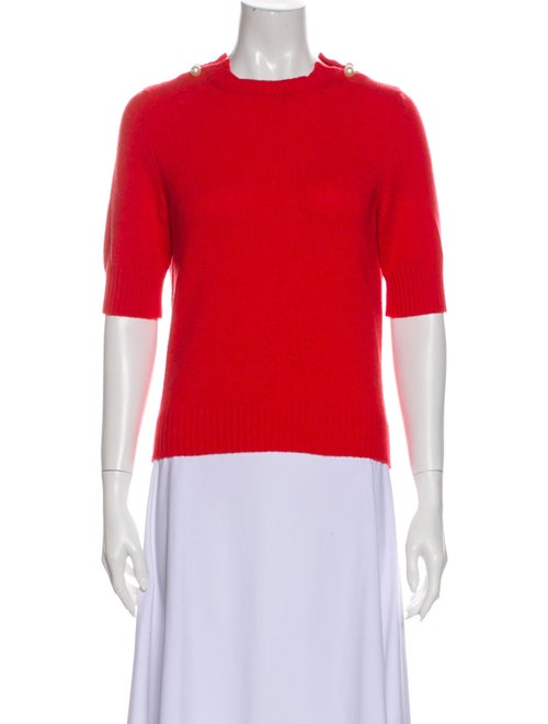 Chanel 2017 Cashmere Sweater Red