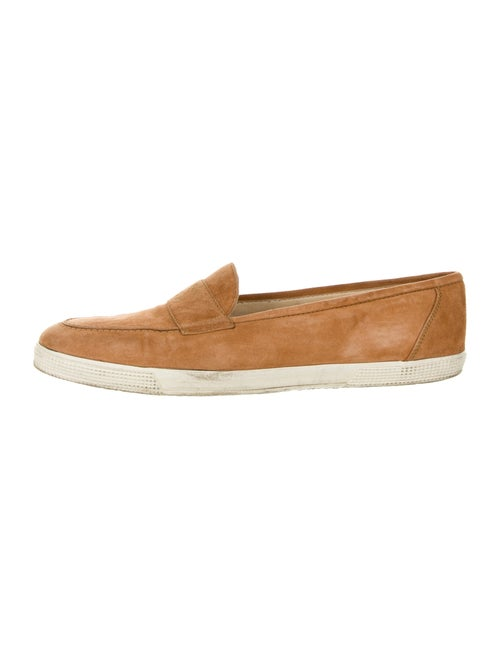 Chanel Suede Sneakers Brown