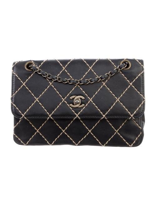 Chanel Surpique Flap Bag Black