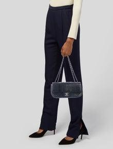 Chanel Small Python Flap Bag