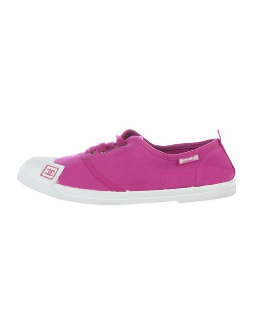 Chanel Sport Sneakers Purple