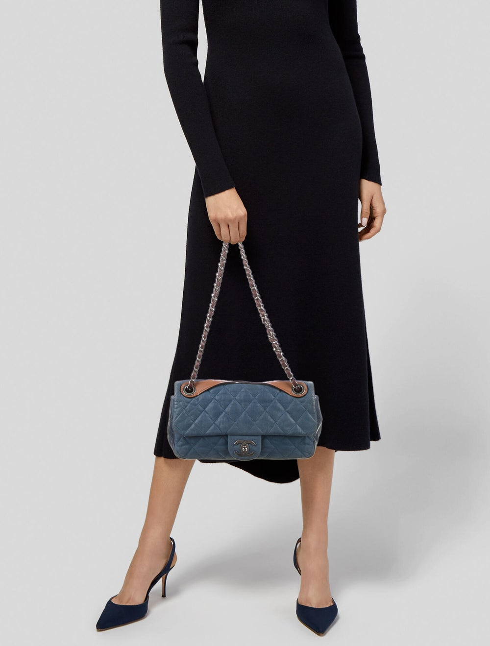 Chanel In the Mix Flap Bag Blue - image 2