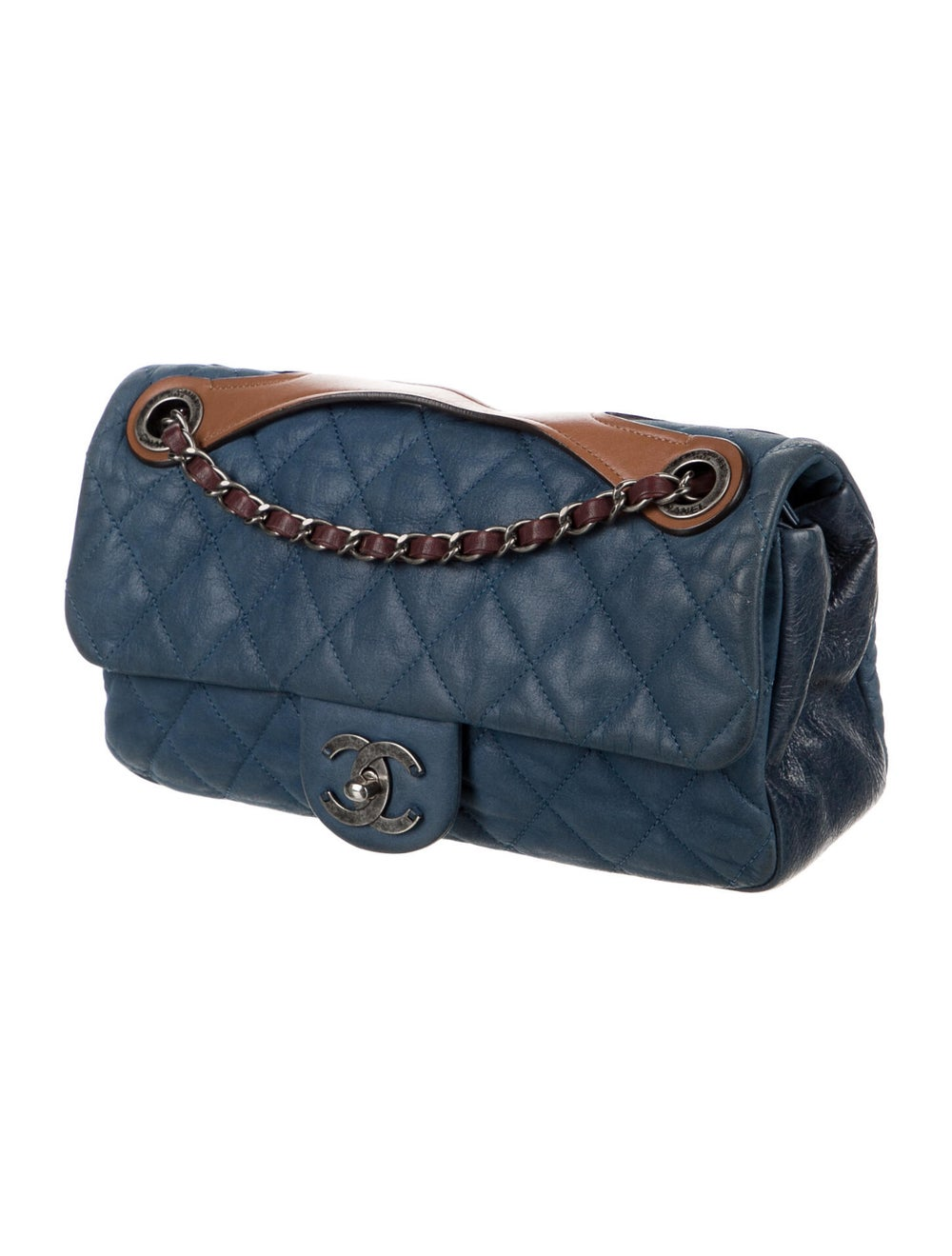 Chanel In the Mix Flap Bag Blue - image 3