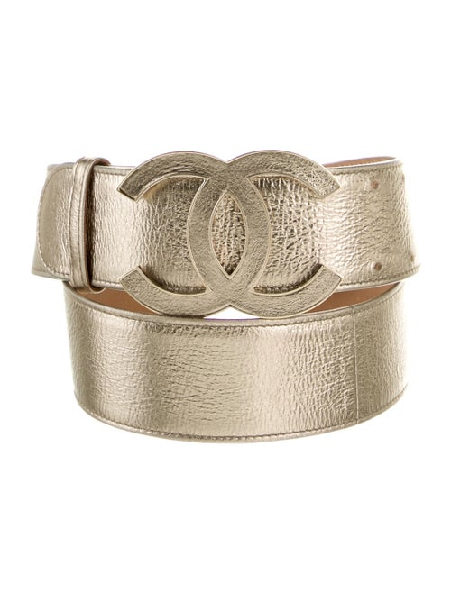 Chanel CC Waist Belt Silver
