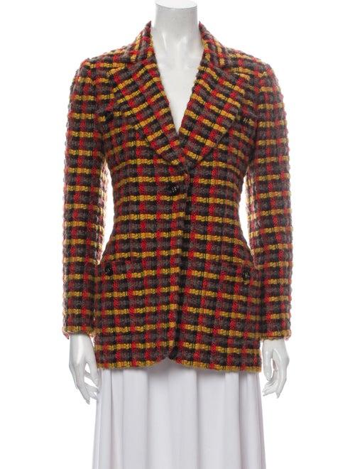 Chanel 1995 1995 Wool Tweed Blazer Wool