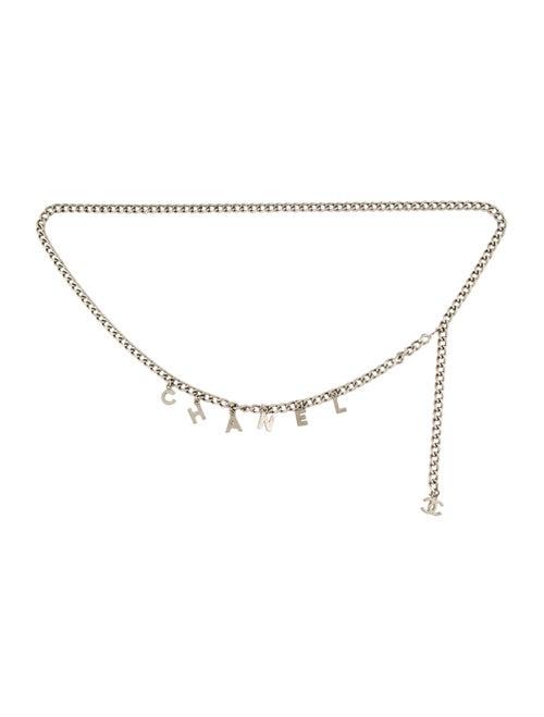 Chanel 2005 Metal Waist Belt Silver