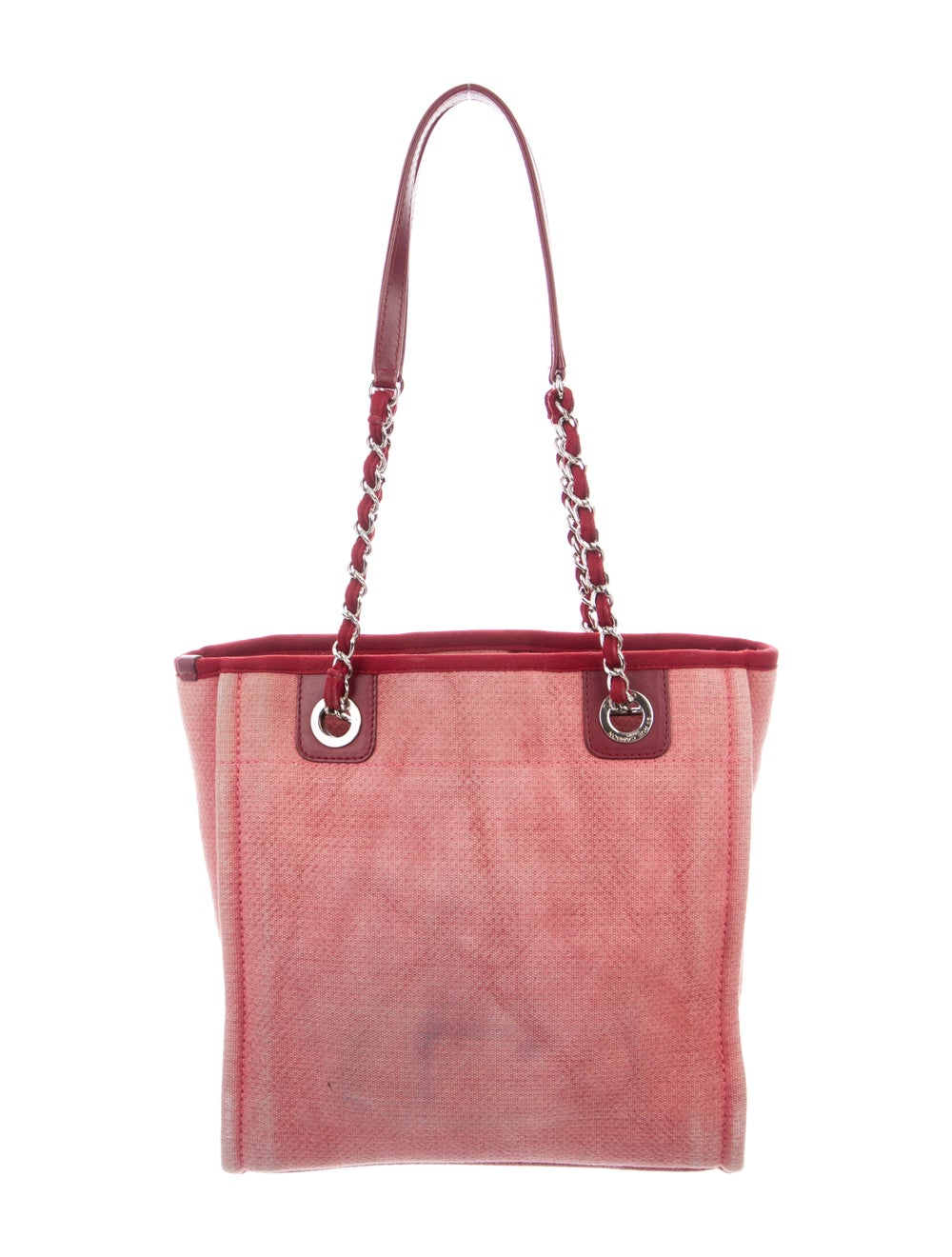 Chanel Small Deauville Bag Pink - image 4