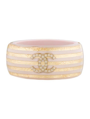 Metallic Striped Cuff