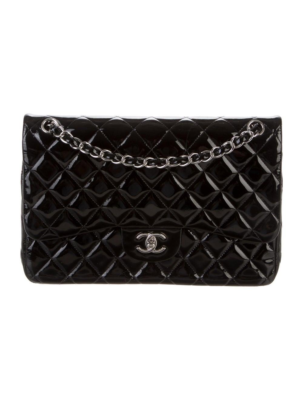 Chanel Classic Jumbo Double Flap Bag Black - image 1