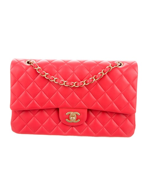 Chanel Classic Medium Double Flap Bag Pink - image 1