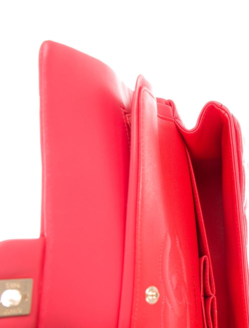 Chanel Classic Medium Double Flap Bag Pink - image 5