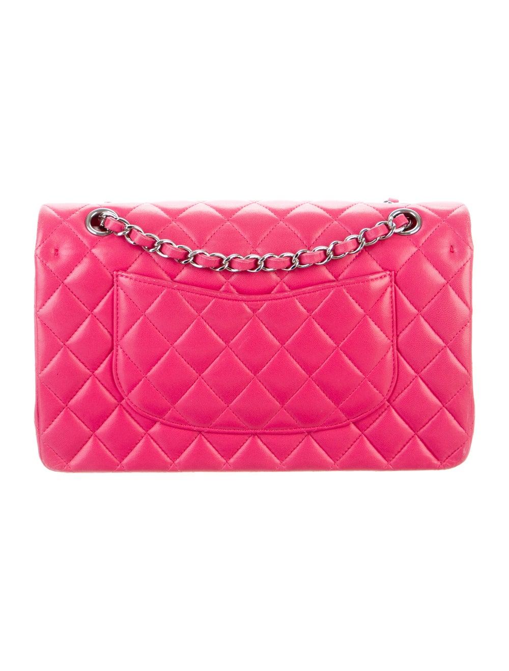 Chanel Classic Medium Double Flap Bag Pink - image 4