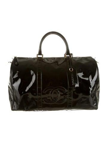 Vintage Patent CC Duffle Bag