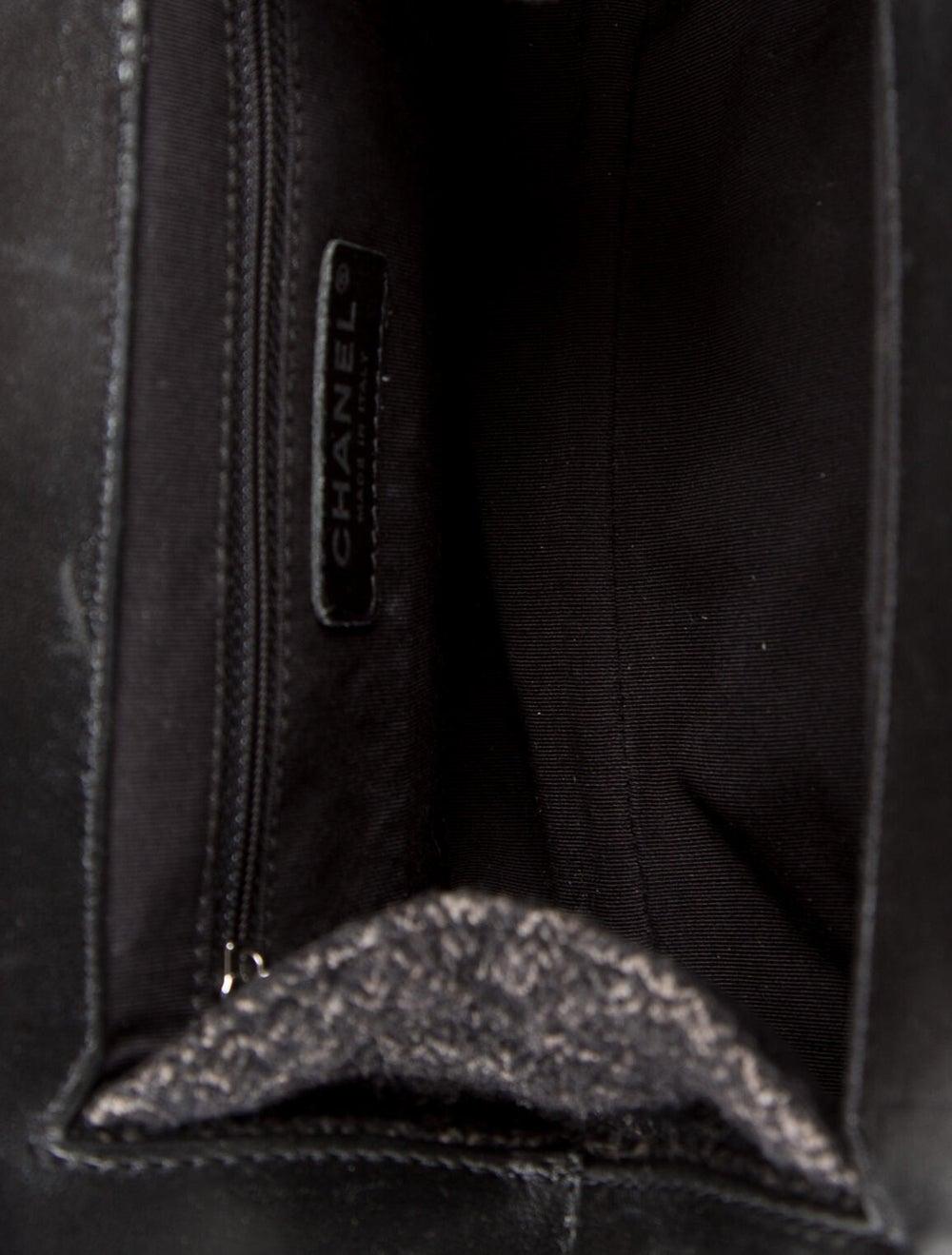 Chanel Tweed Frame Bag Brown - image 5