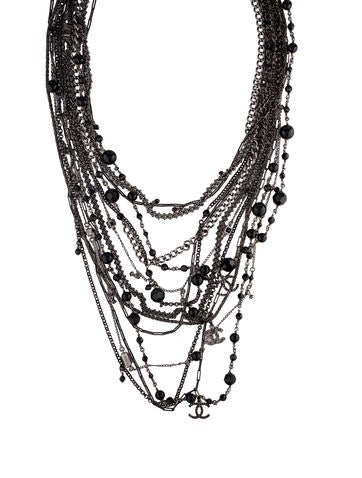 Multi-Strand CC Bead Necklace