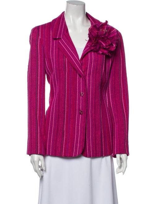 Chanel Vintage 2001 Blazer Pink - image 1