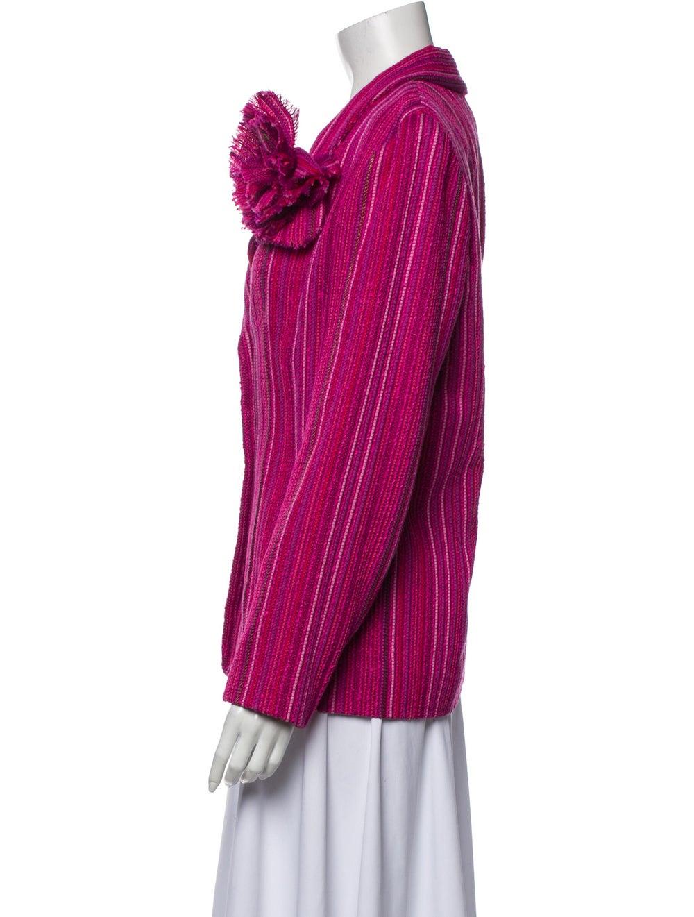 Chanel Vintage 2001 Blazer Pink - image 2