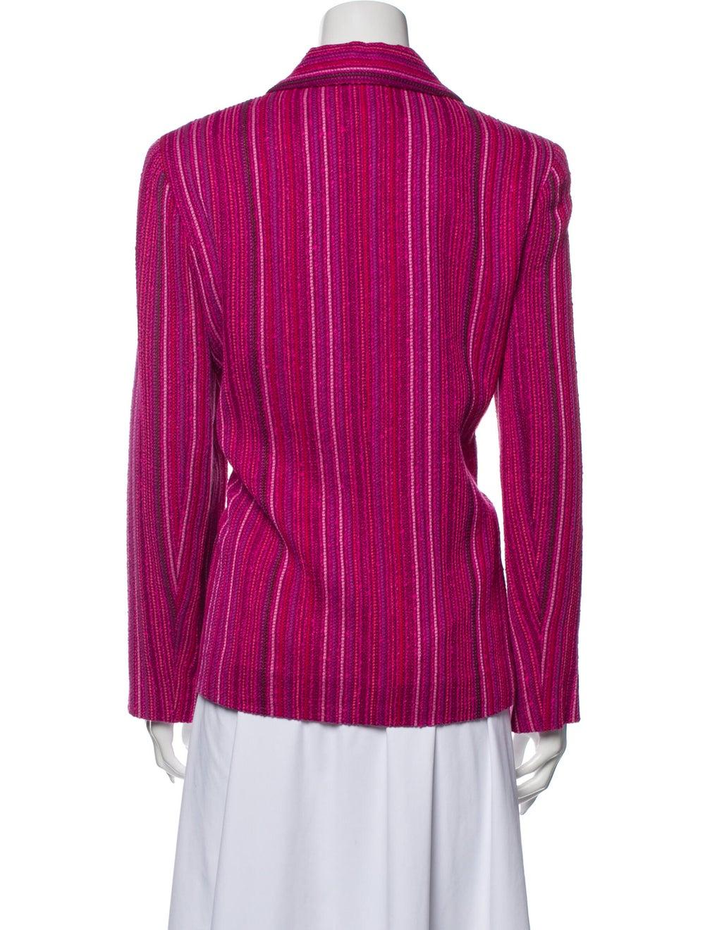 Chanel Vintage 2001 Blazer Pink - image 3