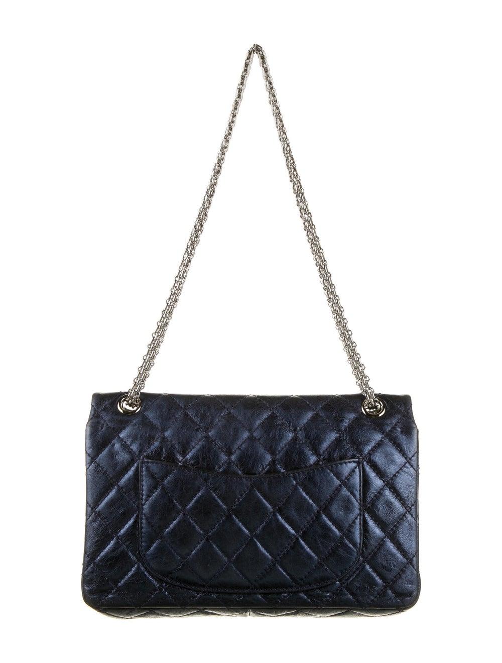 Chanel Reissue 226 Double Flap Bag Blue - image 4